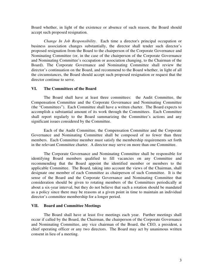 goldman sachs Corporate Governance Guidelines Slide 3