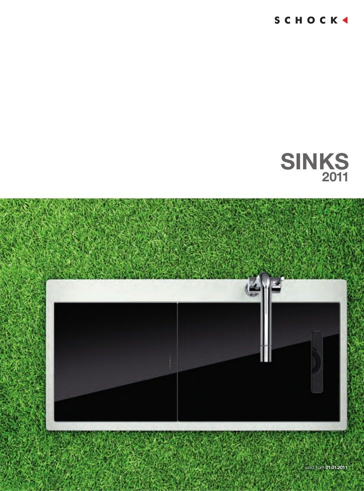 SINKS         2011 valid from 01.01.2011