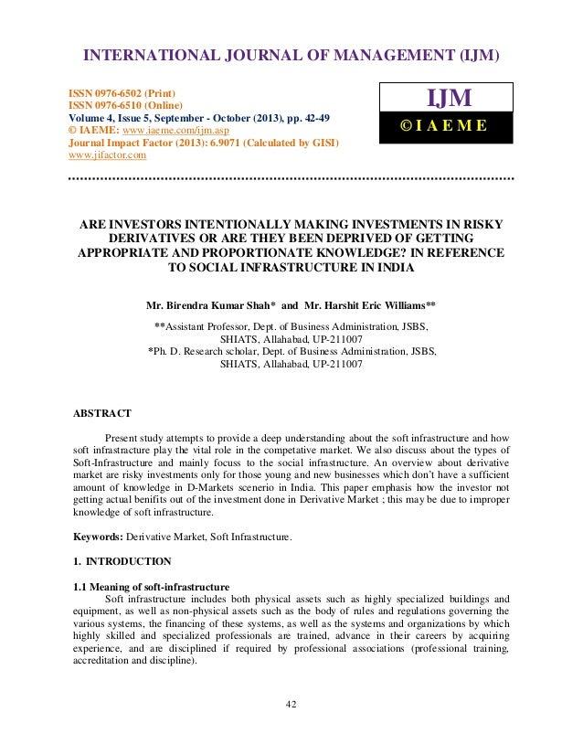 International Journal of Management (IJM), ISSN 0976 – 6502(Print), ISSN 0976 - 6510(Online), Volume 4, Issue 5, September...
