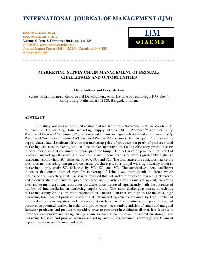 International Journal of Management (IJM), ISSN 0976 – 6502(Print), ISSN 0976 - 6510(Online), Volume 5, Issue 2, February ...
