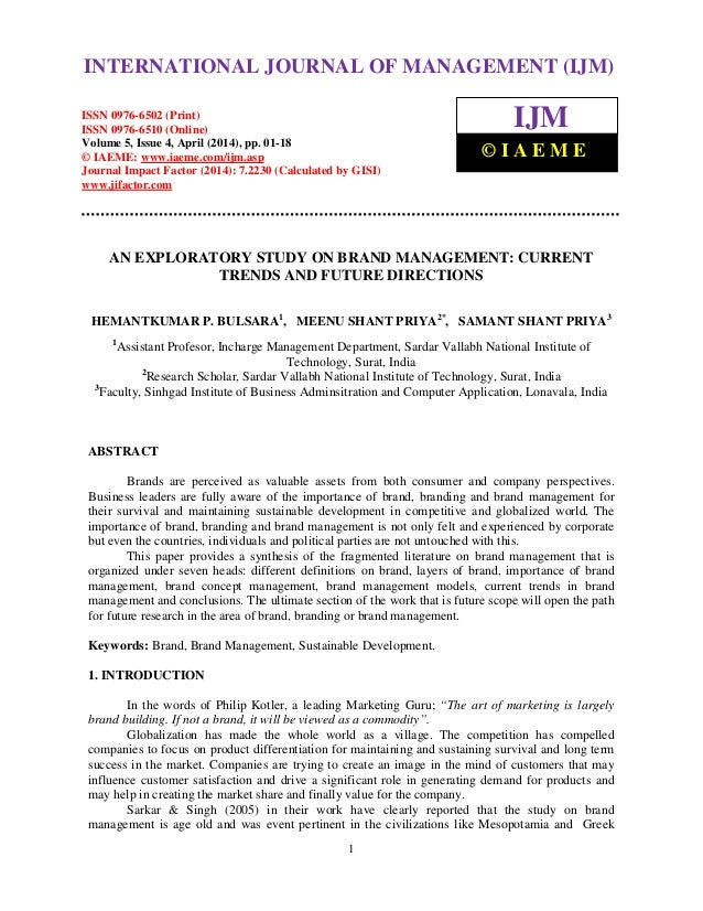 International Journal of Management (IJM), ISSN 0976 – 6502(Print), ISSN 0976 - 6510(Online), Volume 5, Issue 4, April (20...