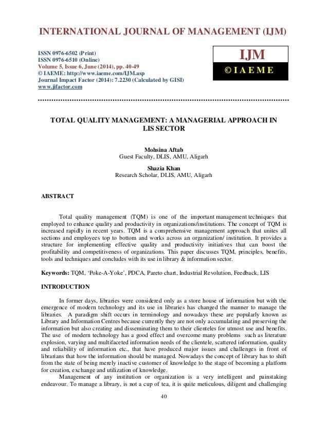 International Journal of Management (IJM), ISSN 0976 – 6502(Print), ISSN 0976 - 6510(Online), Volume 5, Issue 6, June (201...