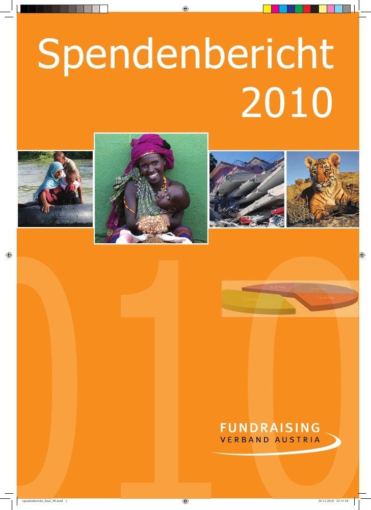 Spendenbericht   1         2010