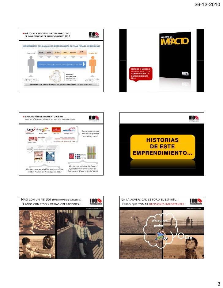 Experiencias Emprendedoras/ Kenneth Gent Slide 3