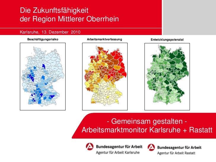 Die Zukunftsfähigkeit                                   der Region Mittlerer Oberrhein                                   K...