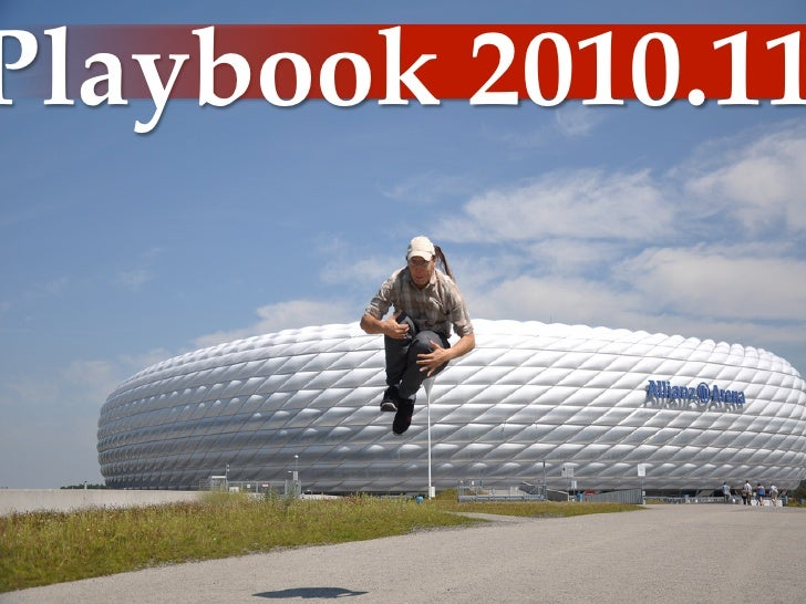 Playbook  2010.11