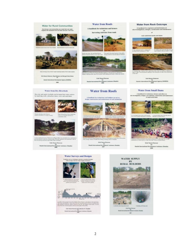 water supply by rural builder s in This paper provides an example of an application of participatory action research  water supply must go hand  might be the model builder's,.