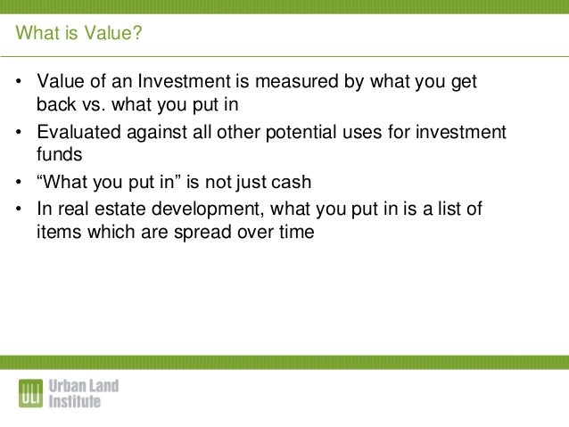 an analysis of the present rate of development Net present value (npv) is the difference between the present value of cash inflows and the present value of cash outflows over a period of time npv is used in capital budgeting to analyze the profitability of a projected investment or project.