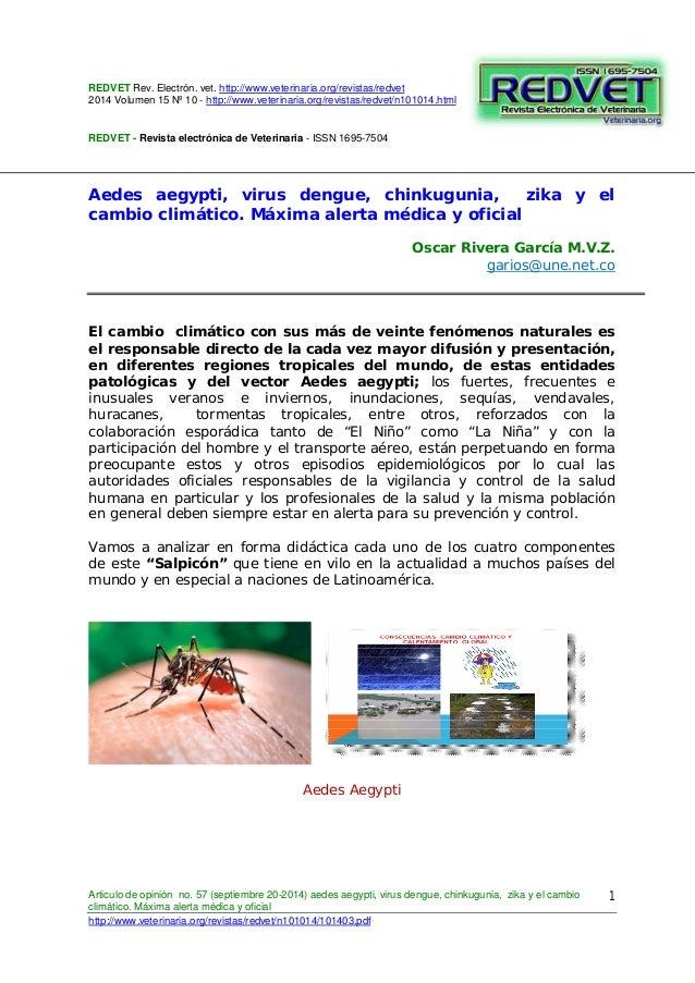 REDVET Rev. Electrón. vet. http://www.veterinaria.org/revistas/redvet 2014 Volumen 15 Nº 10 - http://www.veterinaria.org/r...
