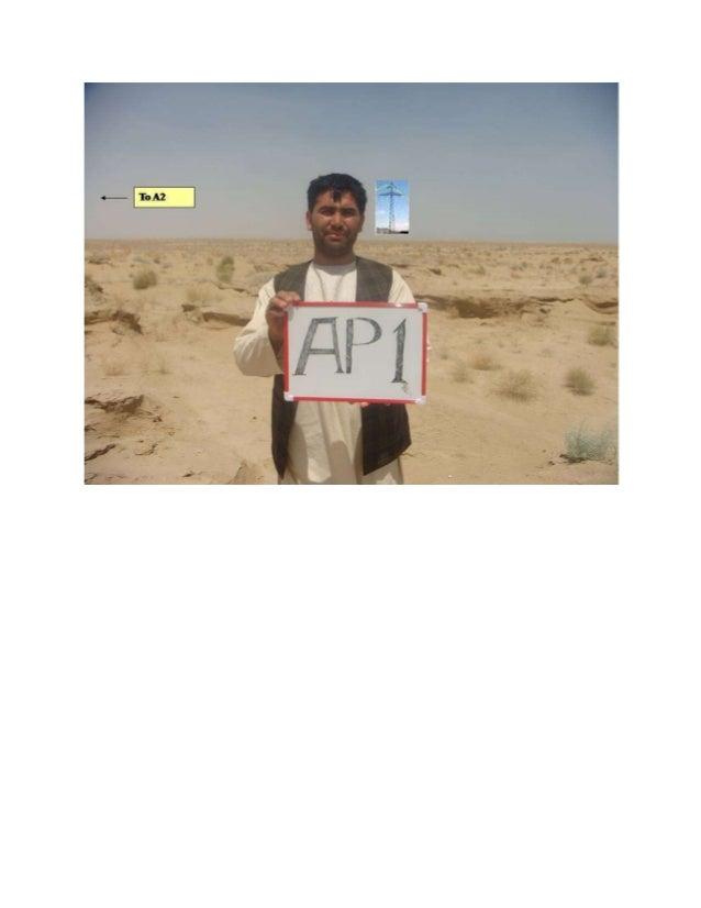 Angle Point 1 to Angle Point 2-Turkmenistan Shibirgan Survey for ADB/Fichtner Gmbh-2012