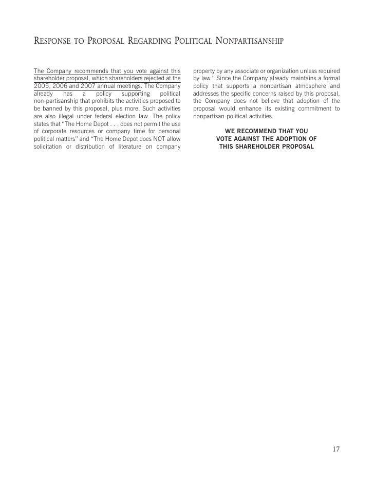 SHAREHOLDER PROPOSAL REGARDING EMPLOYMENT DIVERSITY REPORT DISCLOSURE (ITEM 7   ON THE PROXY CARD)     Trillium Asset Mana...