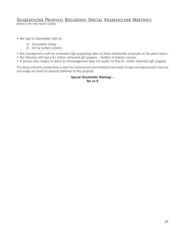 SHAREHOLDER PROPOSAL REGARDING EXECUTIVE OFFICER COMPENSATION (ITEM 8   ON THE PROXY CARD)     New York City Employees' Re...