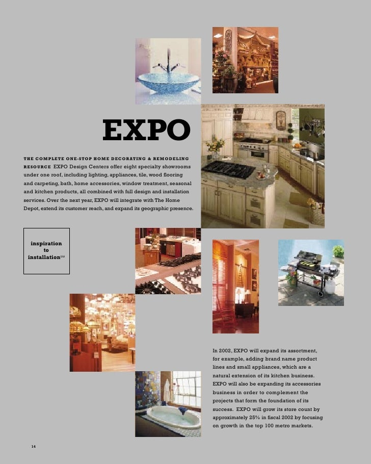 EXPO THE COMPLETE ONE STOP HOME DECORATING U0026 REMODELING EXPO Design Centers  ...