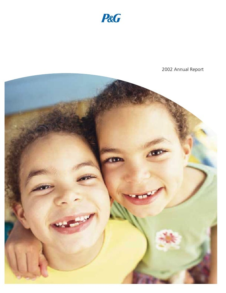 2002 Annual Report P&G   2002 Annual Report