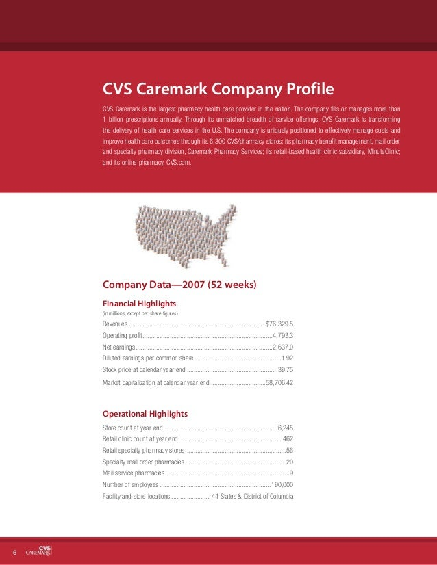 Cvs Caremark  Corporate Social Responsibility Report