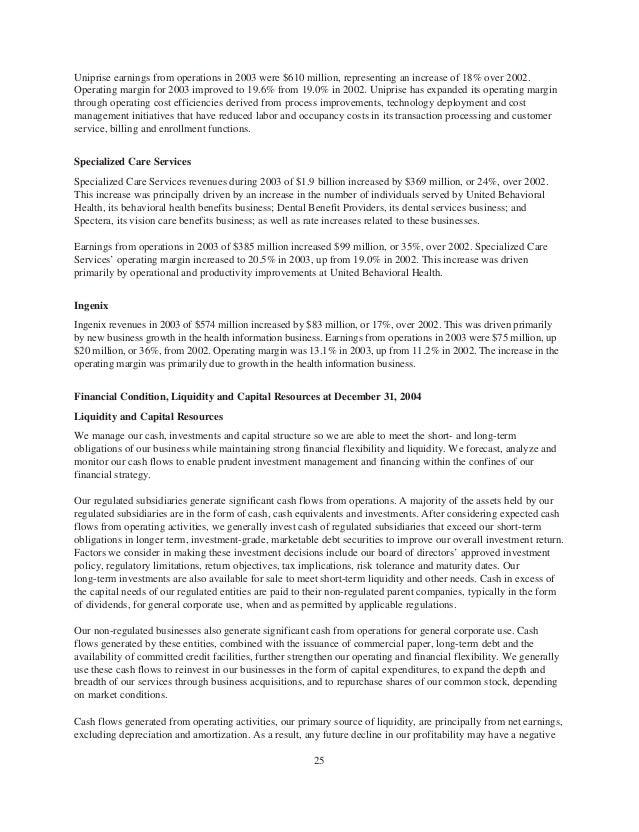 United Health Group Form 10-K