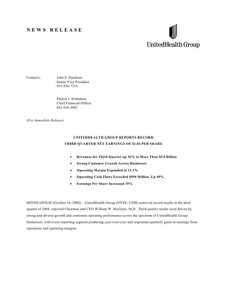 NEWS RELEASE     Contacts:          John S. Penshorn                    Senior Vice President                    952-936-7...