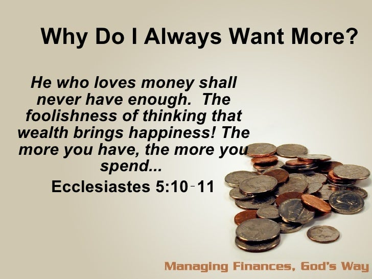 why are materialistic possessions important in life The stairway to heaven:  is not life more important than food, and the body more important than clothes  material possessions and the church.