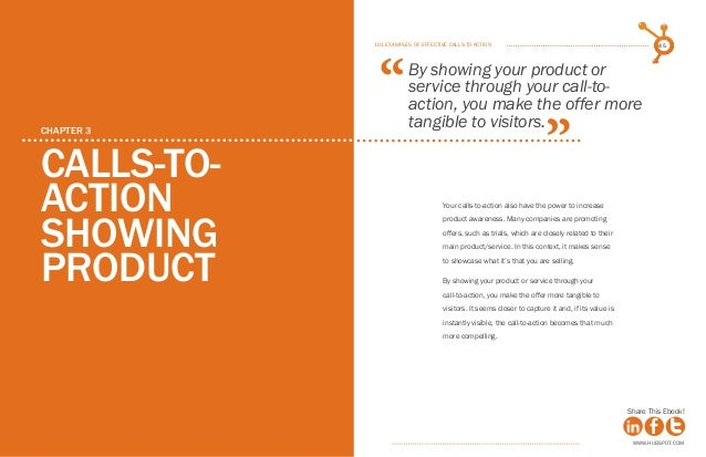 101 examples of effective calls to action ebook by hubspot hubspot 23 fandeluxe Gallery