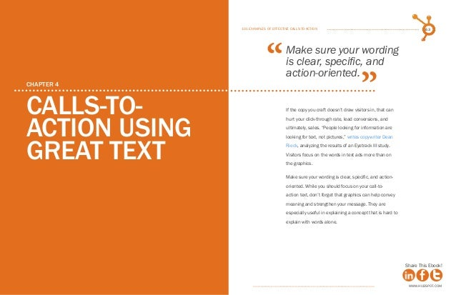 101 examples of effective calls to action ebook by hubspot hubspot 32 fandeluxe