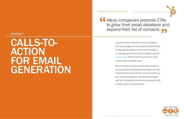 hubspot call to action pdf