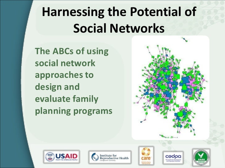 Harnessing the Potential of      Social NetworksThe ABCs of usingsocial networkapproaches todesign andevaluate familyplann...