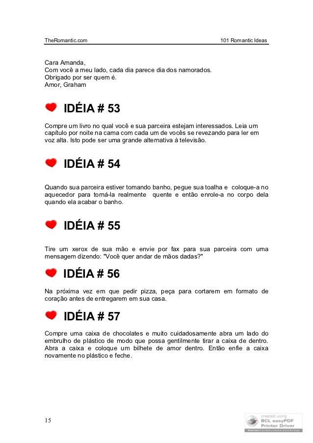 101 Idéias Românticas