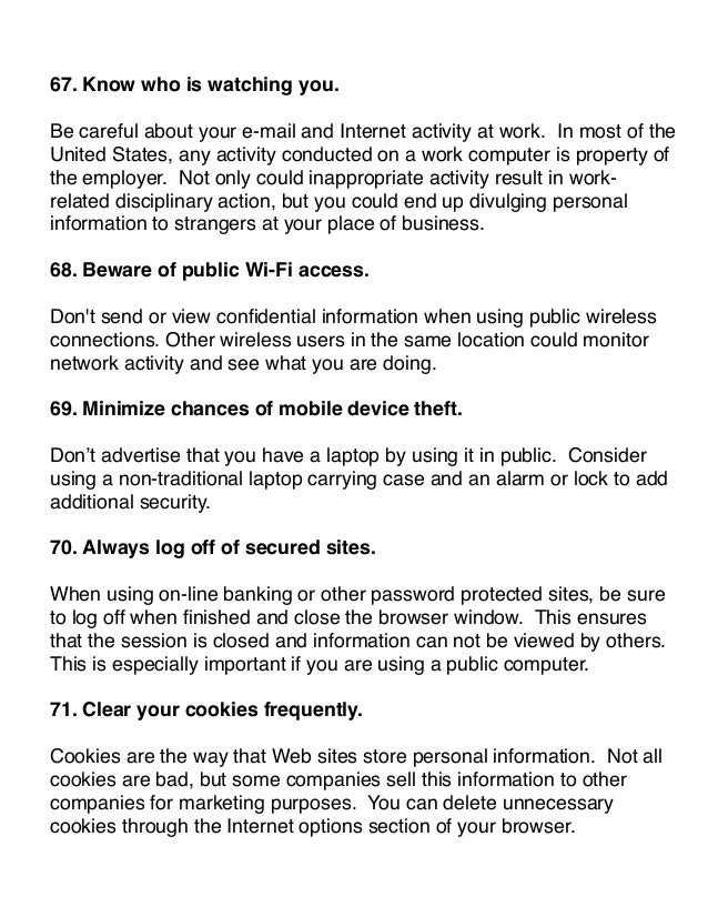 internet security tips ebook know how to protect your computer  17 72 secure mobile connections
