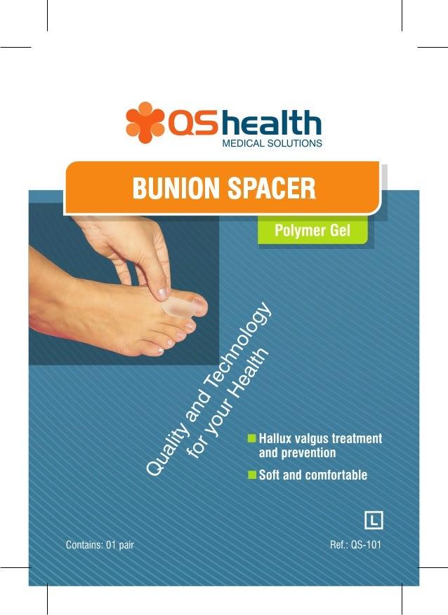 Bunion Spacer polymer Gel