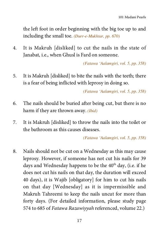 Islamic Book in English: 101 madani pearls