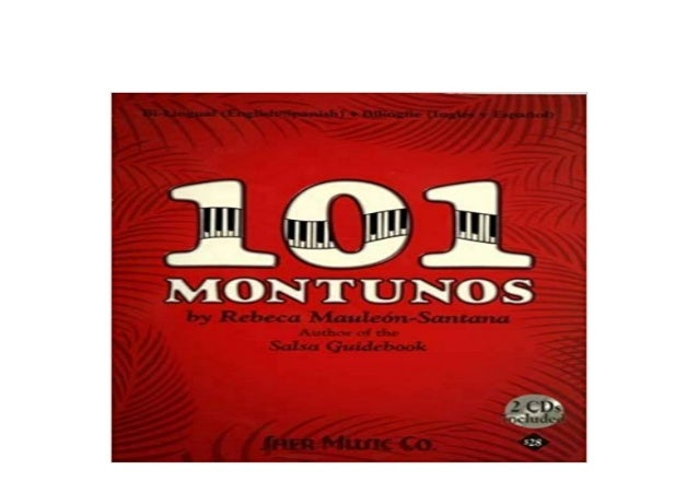 E Book Textbook Library 101 Montunos English And Spanish Edition Fu