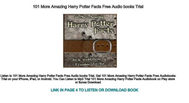 The description of Audiobooks Of HP Free Not Official