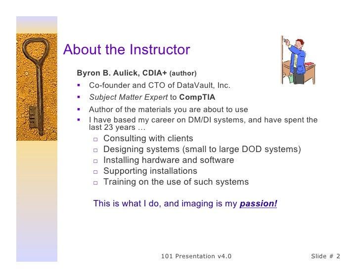101 Presentation Sample Slide 2