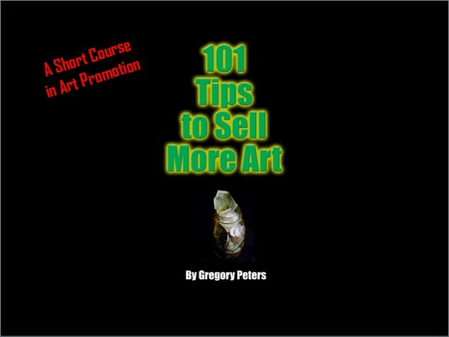 A Short Course in Art Promotion