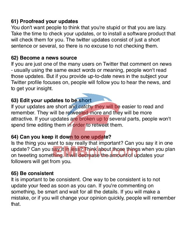 101 twitter tips ebook power user tips for the twitter professional 14 fandeluxe PDF