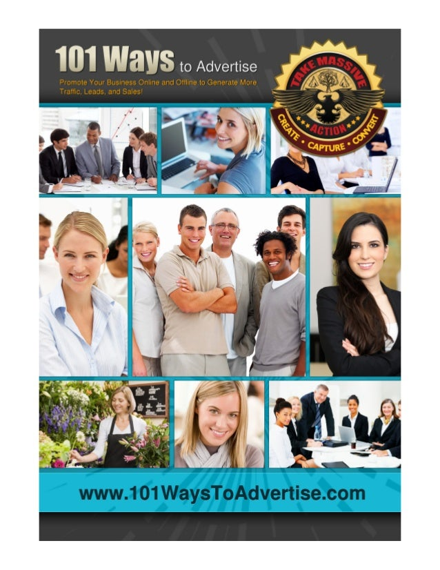 101 ways to advertise your home based business