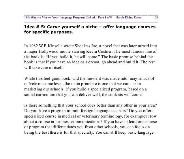 101 ways to market your language program ebook part 1 idea fandeluxe Images