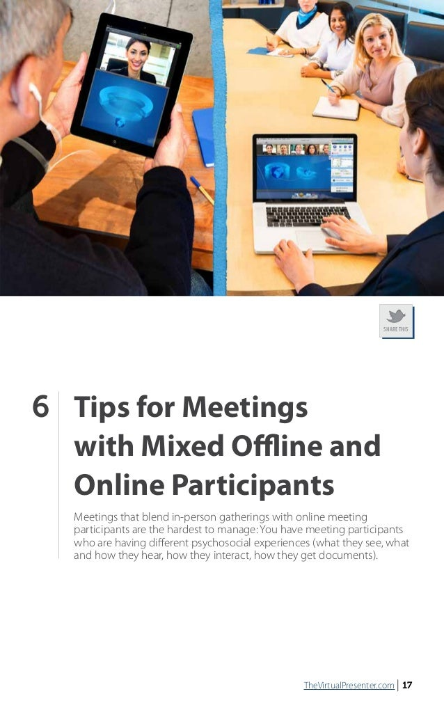 102 Tips For Online Meetings E Book