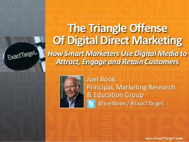 How Smart Marketers Use DigitalMedia to Attract,Engage and Retain Customers The Triangle Offense Of Digital Direct Marketi...