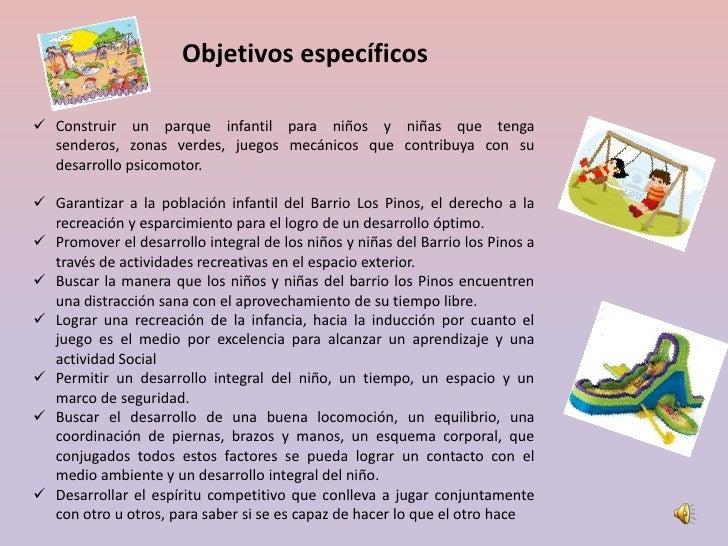 102058 135 diapositivas proyecto final for Como hacer un proyecto de comedor infantil