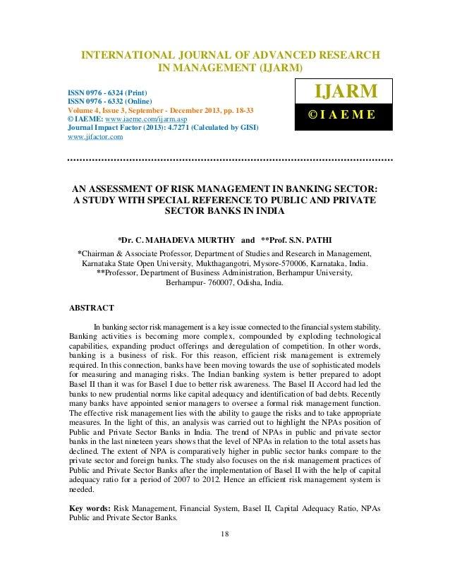 International Journal of Advanced Research in OF ADVANCED ISSN 0976 – 6324 INTERNATIONAL JOURNAL Management (IJARM), RESEA...