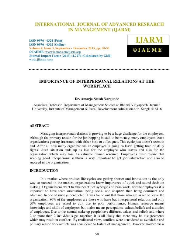 International Journal of Advanced Research in Management (IJARM), ISSN 0976 – 6324 INTERNATIONAL JOURNAL OF ADVANCED RESEA...