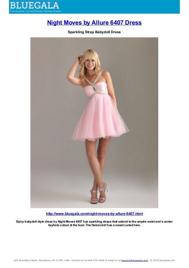 Sparkling Strap Babydoll Dress