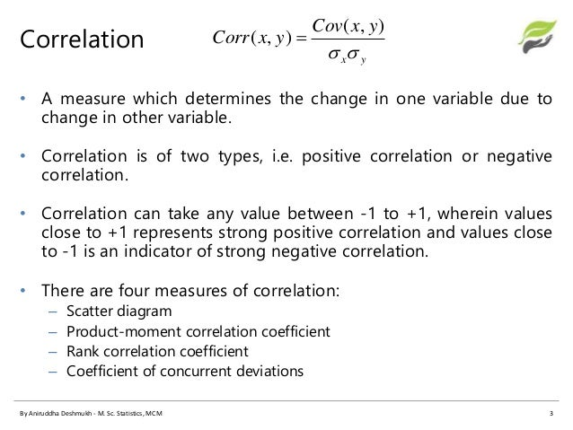 relationship between correlation and covariance two
