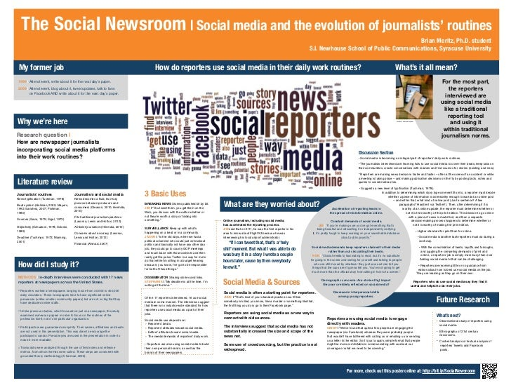 The Social Newsroom | Social media and the evolution of journalists' routines                                             ...