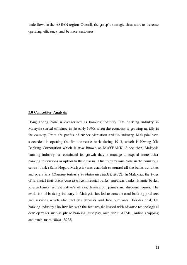 Hong Leong Financial Group SWOT Analysis, Competitors & USP