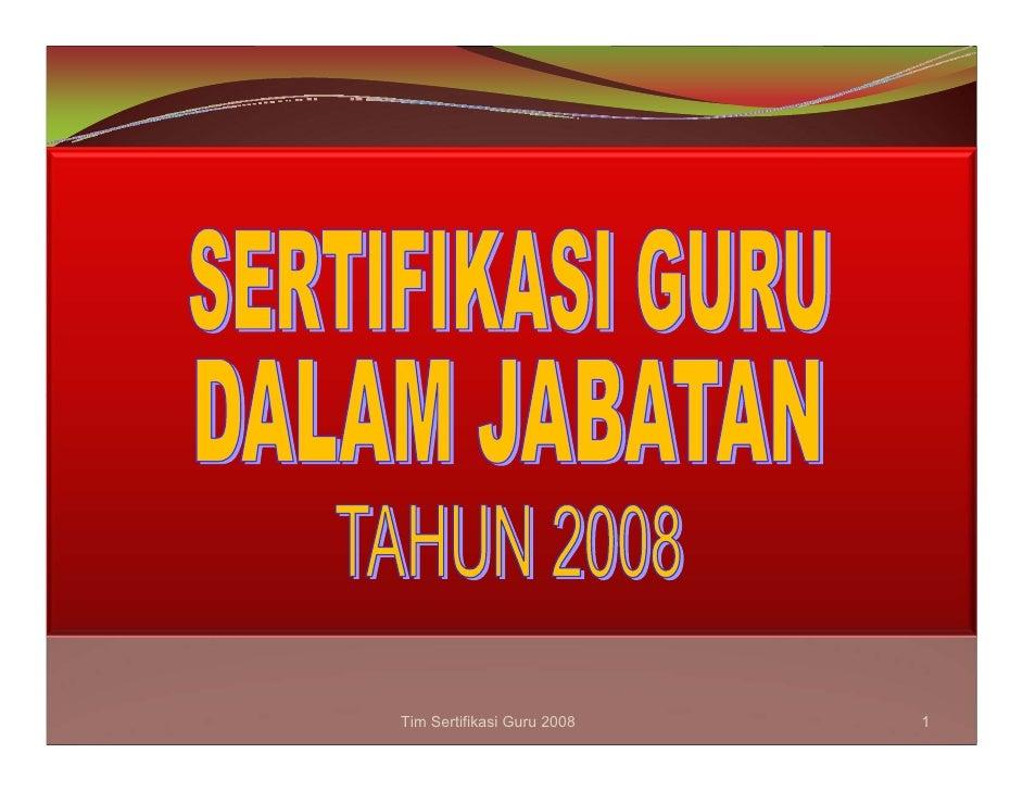 Tim Sertifikasi Guru 2008   1