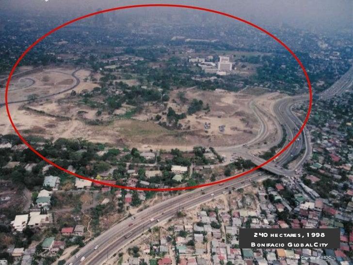 *Photo Courtesy of  FBDC 240 hectares, 1998 Bonifacio Global City
