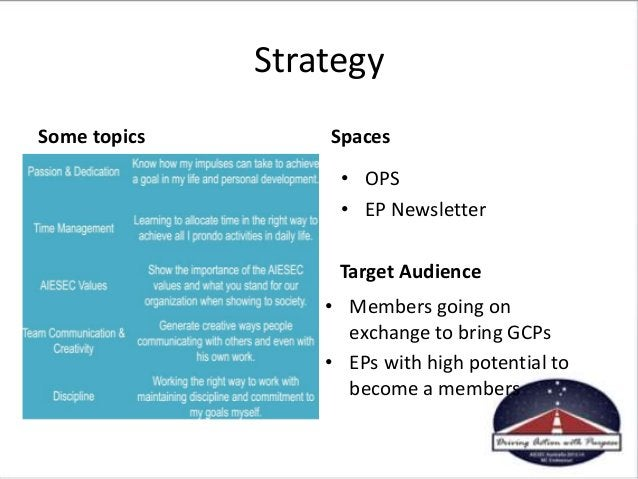 • EP LEAD from OGX side. Ensure to include: • Preparation before they leave. – Which kind of activities do you do before t...