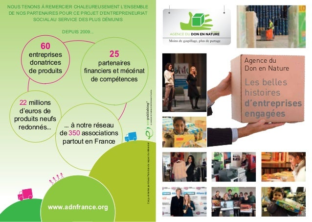 Nous tenons à remercier chaleureusement l'ensemblede nos partenaires pour ce projet d'entrepreneuriat         social au se...